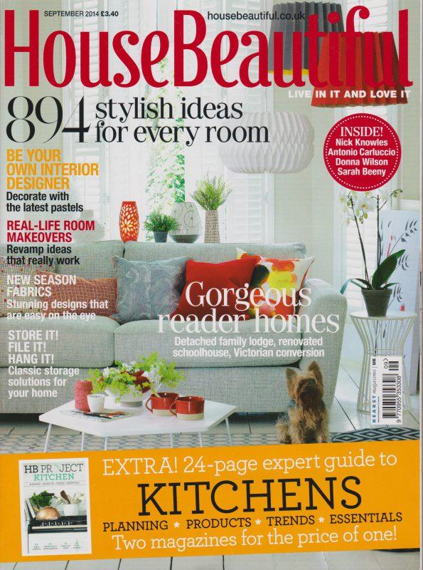 house beautiful - 2014 magazine