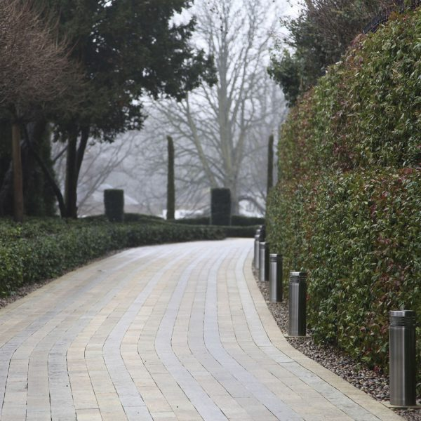 Formal Garden in Hampstead, London - path
