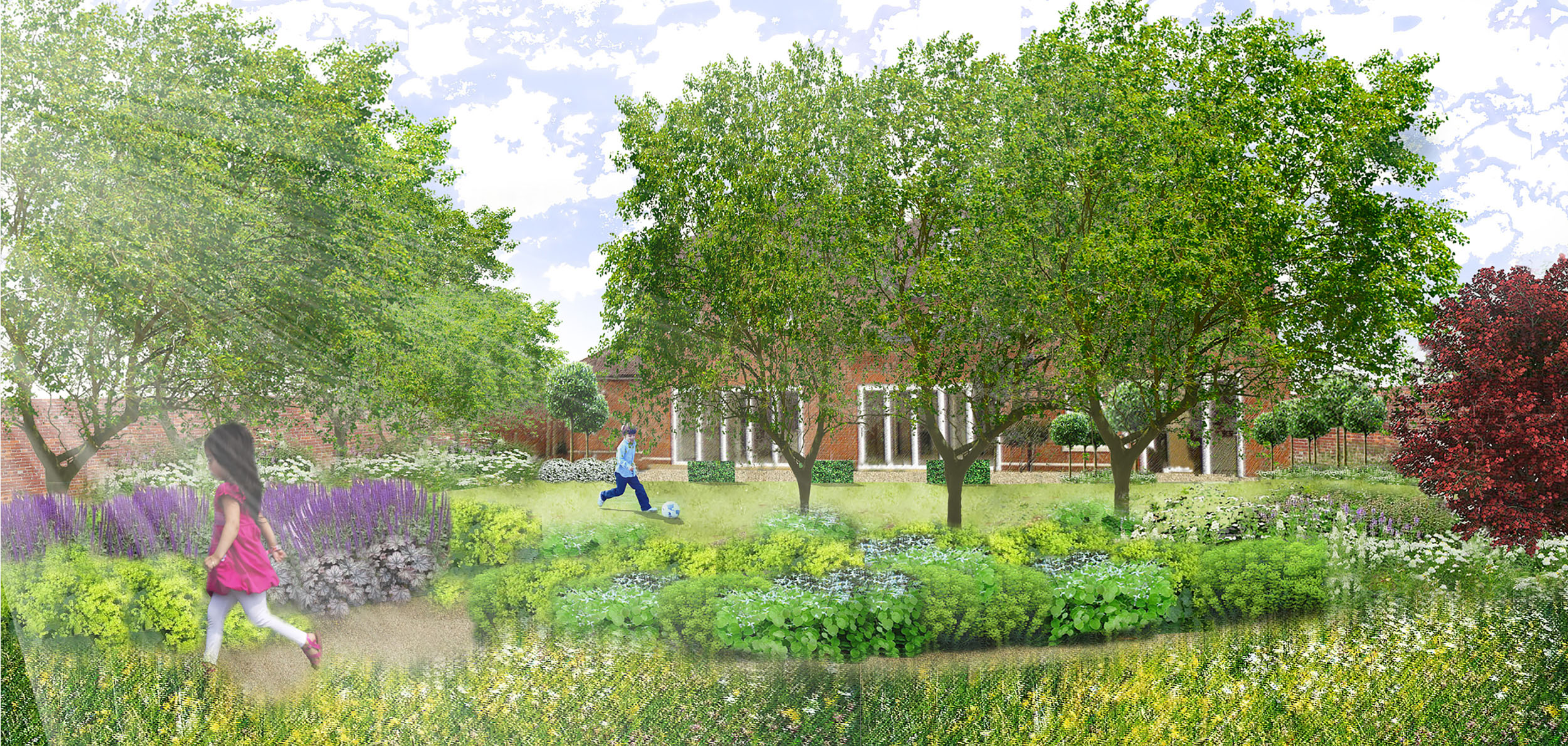New Build Garden, Harpenden | Rosemary Coldstream Garden ...