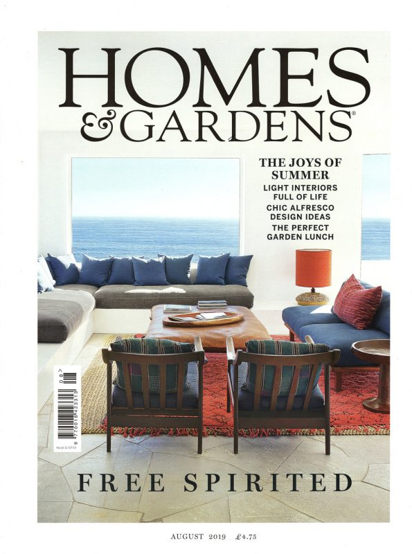 Homes & Gardens front page